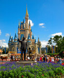 Mundo de Walt Disney del castillo de Disney Fotos de archivo libres de regalías