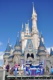 Mundo de Walt Disney del castillo de Disney Cinderella Imagen de archivo libre de regalías