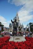 Mundo de Walt Disney do castelo de Disney Cinderella Imagens de Stock