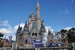Mundo de Walt Disney do castelo de Disney Cinderella Fotografia de Stock Royalty Free