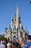Mundo de Walt Disney do castelo de Disney Cinderella Imagens de Stock Royalty Free