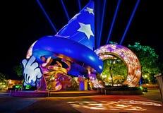 Mundo de Walt Disney dos estúdios de Hollywood de Disney Foto de Stock