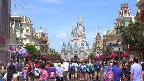 Mundo de Walt Disney Reino mágico orlando EE.UU. almacen de metraje de vídeo