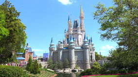 Mundo de Walt Disney Reino mágico orlando EE.UU. almacen de video