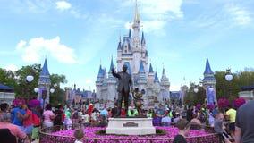 Mundo de Walt Disney Reino mágico orlando EE.UU. metrajes