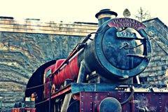 Mundo de Wizarding de Harry Potter en los estudios universales Japón Imagen de archivo libre de regalías