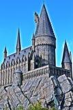 Mundo de Wizarding de Harry Potter en los estudios universales Japón Foto de archivo
