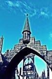Mundo de Wizarding de Harry Potter en los estudios universales Japón Fotos de archivo libres de regalías