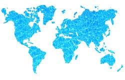 Mundo del agua Imagen de archivo libre de regalías