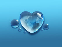 Mundo del agua Imagenes de archivo