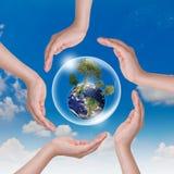 Mundo del ahorro Imagen de archivo libre de regalías