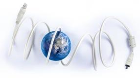 Mundo del alambre Foto de archivo libre de regalías