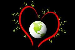 Mundo del amor Imagenes de archivo