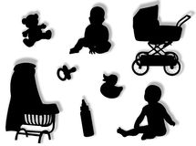 Mundo del bebé Fotografía de archivo libre de regalías