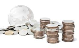 Mundo del dinero Foto de archivo libre de regalías