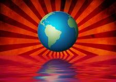 Mundo del globo Fotografía de archivo libre de regalías