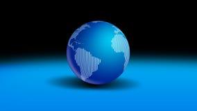 Mundo del globo Fotografía de archivo