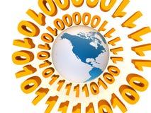 Mundo del globo stock de ilustración