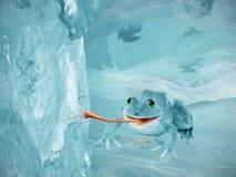 Mundo del hielo stock de ilustración