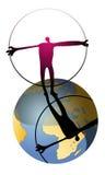 Mundo del hombre stock de ilustración