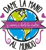 Mundo di Al di Vuelta royalty illustrazione gratis