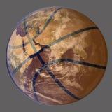 Mundo do basquetebol Imagens de Stock Royalty Free
