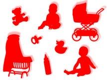 Mundo do bebê Foto de Stock
