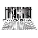Mundo do código de barra ilustração do vetor