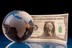 Mundo do dinheiro fotos de stock royalty free