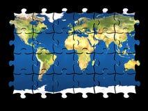 Mundo do enigma isolado Imagem de Stock