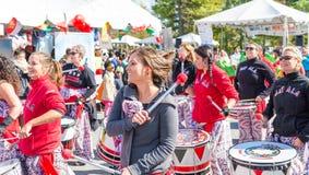 Mundo do festival 2015 de Montgomery Fotografia de Stock Royalty Free