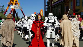 Mundo do filme de Star Wars imagens de stock royalty free