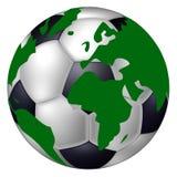 Mundo do futebol Foto de Stock