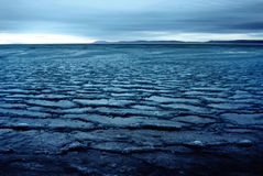 Mundo do gelo fotografia de stock