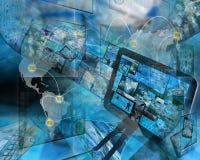 Mundo do Internet Foto de Stock