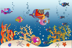 Mundo do mar Imagens de Stock