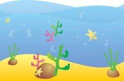 Mundo do mar ilustração do vetor