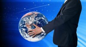 Mundo do negócio Imagens de Stock Royalty Free