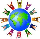 Mundo do negócio Fotos de Stock Royalty Free