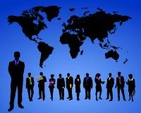 Mundo do negócio ilustração stock