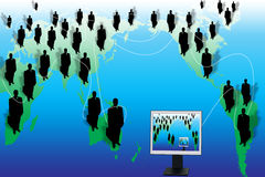Mundo do negócio Fotos de Stock