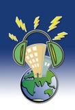 Mundo do ruído Imagem de Stock Royalty Free