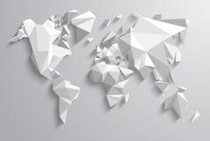 Mundo do triângulo Fotos de Stock Royalty Free