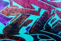 Mundo dos grafittis Fotos de Stock