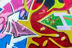 Mundo dos grafittis Foto de Stock Royalty Free