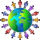 Mundo dos povos ilustração stock