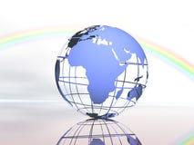 Mundo e céu Fotografia de Stock Royalty Free