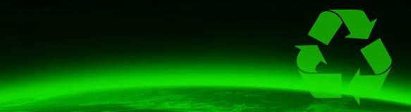 Mundo e Greenpeace verdes Foto de Stock Royalty Free
