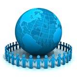 Mundo e povos Imagens de Stock Royalty Free