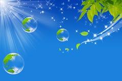 Mundo ecológico Imagens de Stock